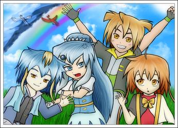 Art-Trade - Silverin Family Picture
