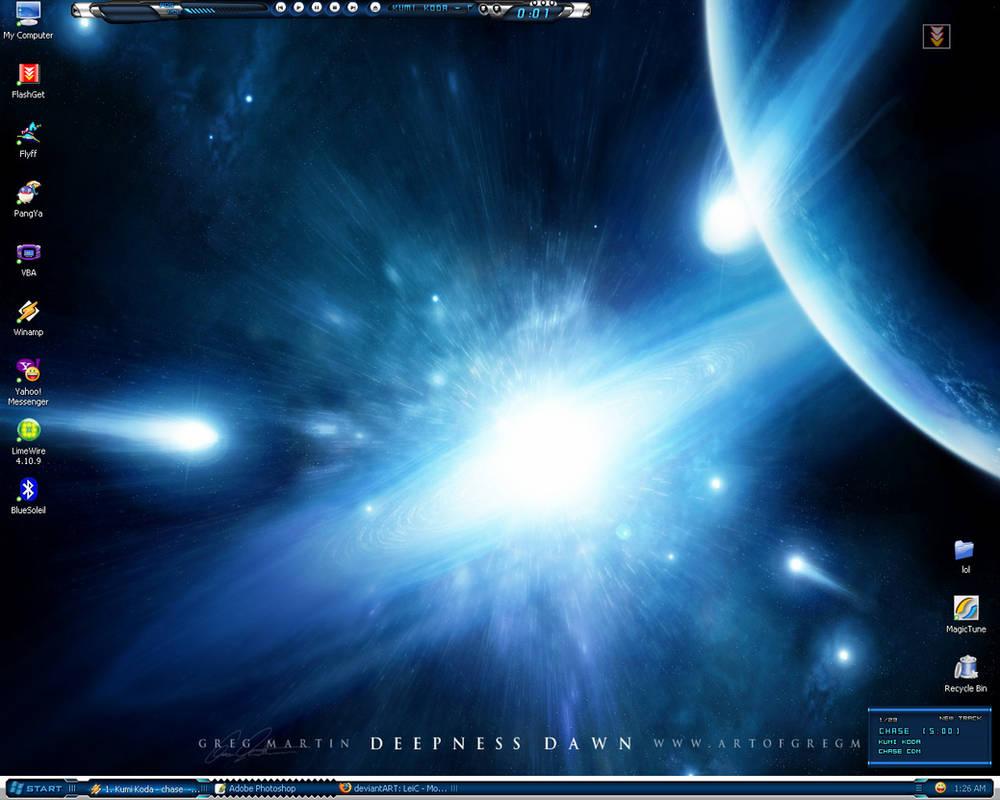 Desktop: Deepness Dawn by Greg
