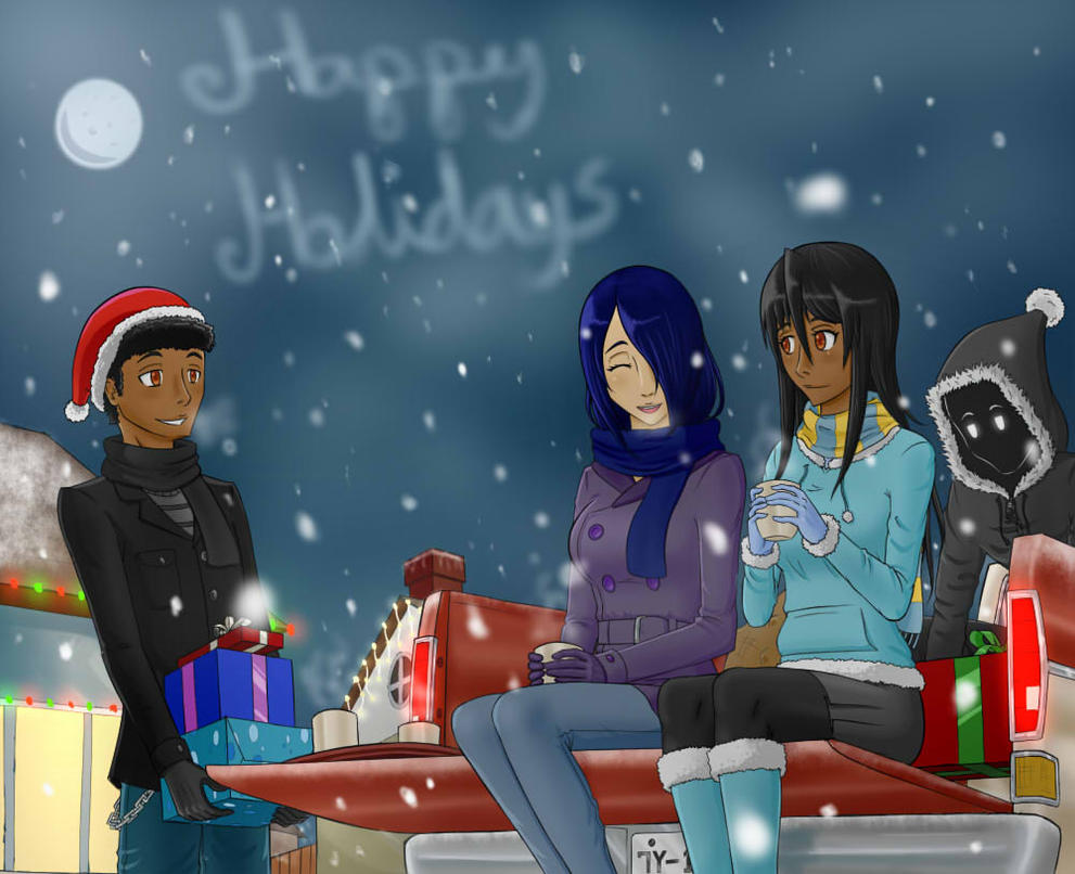 Happy Holidays dudes by Raphael7