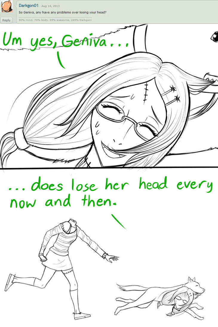Ask Geniva (Lose your head) by Raphael7