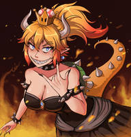 No regret...here's Bowsette! by TeiWicked