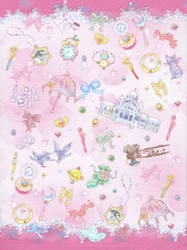 Sailor Moon Crystal Romance Memo Paper