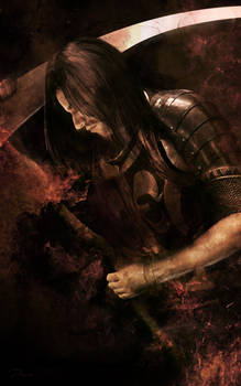 Scythe Warrior