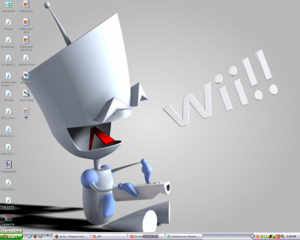 New desktop...GIR CRAZY by Chimera-Wotiba