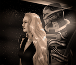 [Saren Arterius and Kirsen Shepard] Missing you by LRTrevelyan