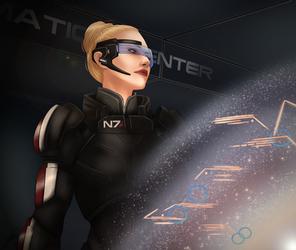 [Mass Effect] Commander Kirsen Shepard by LRTrevelyan