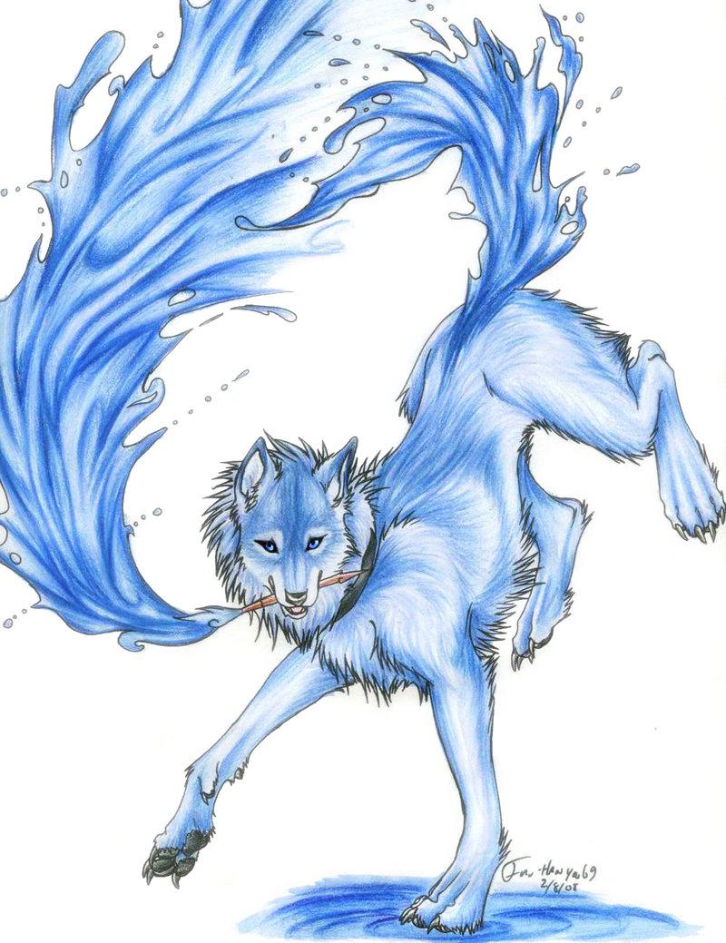 Water element wolf