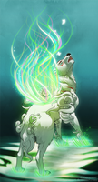 Spring summoner - Okami by Pokemura