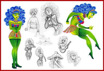 LDT : Cactus Girl by ArtemisiaDark