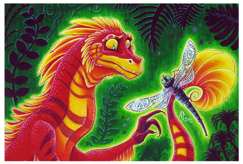 LMM : Dragonfly by ArtemisiaDark