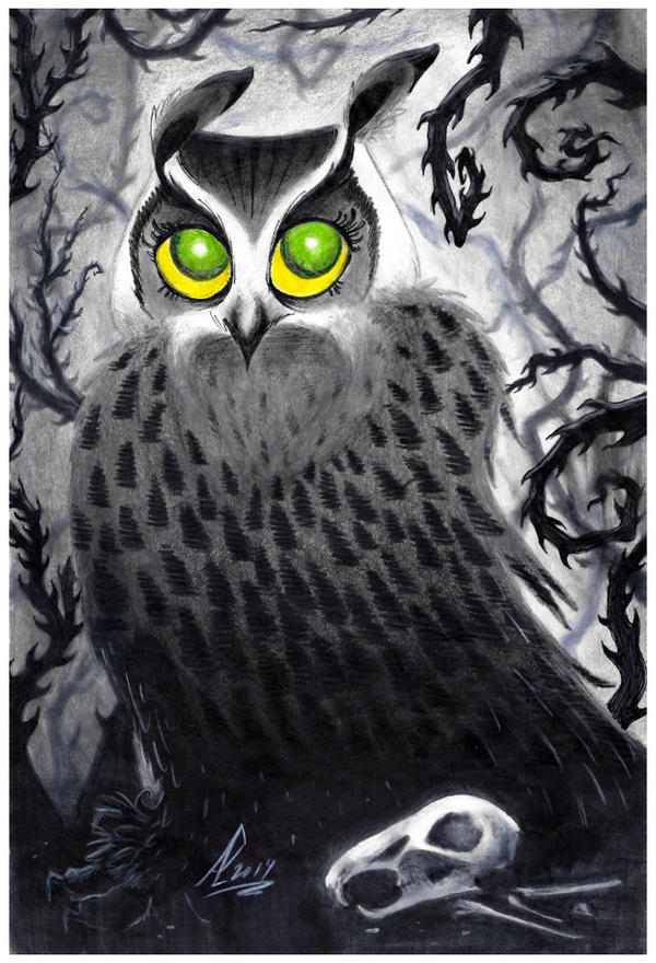 LBDBM : Miss Owl by ArtemisiaDark