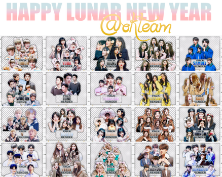 20180216 HAPPY LUNAR NEW YEAR OK TEAM ((