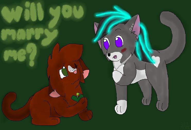 Sage's Proposal by MarsieZeWerewolfie