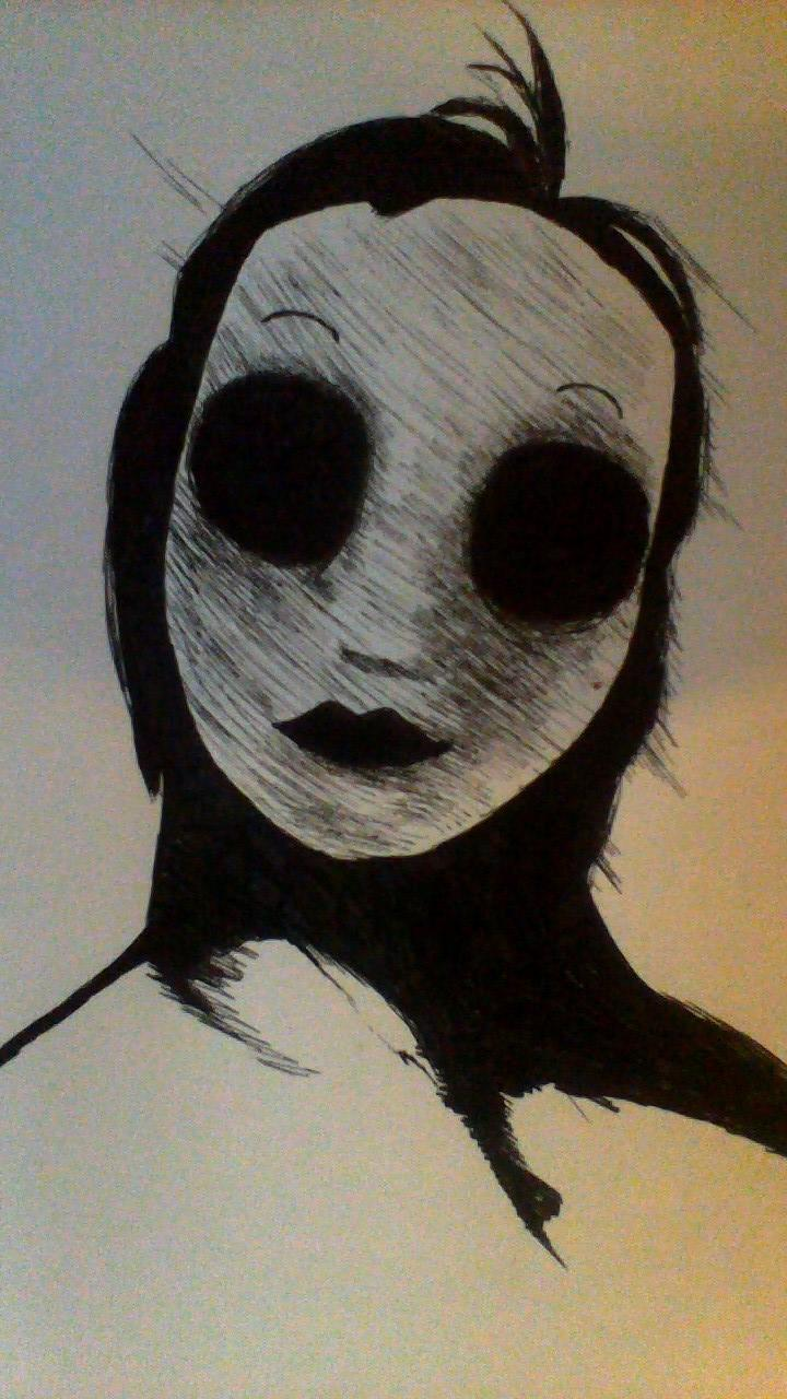 Masky Portrait by ReaperzLittleWolf