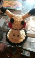 Crochet Mimikyu doll