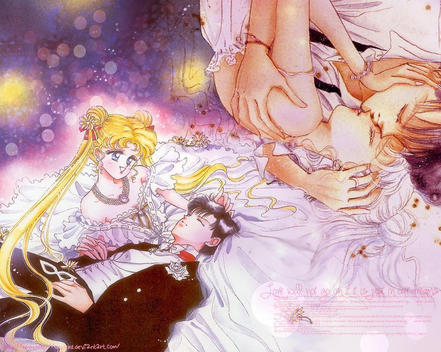 Usagi And Mamoru A Love Like No Other usagi x mamoru wallpap...