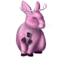 Rose Bunny by TinTans