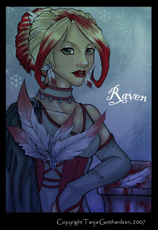 Raven,- gone blond by TanjaGotthardsen