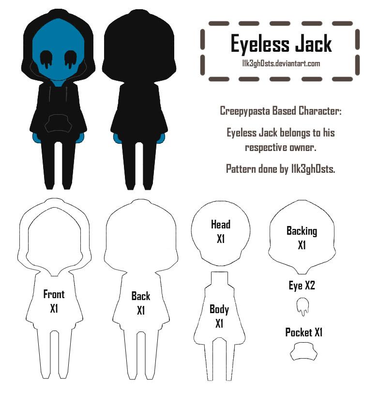Pattern: Eyeless Jack by l1k3gh0sts