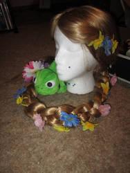 Redone Rapunzel wig
