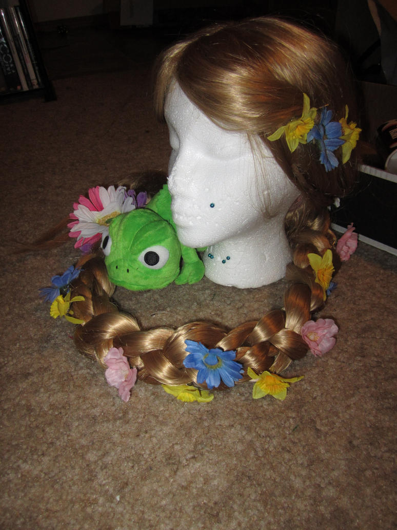 Redone Rapunzel wig by ChelseaHavoc