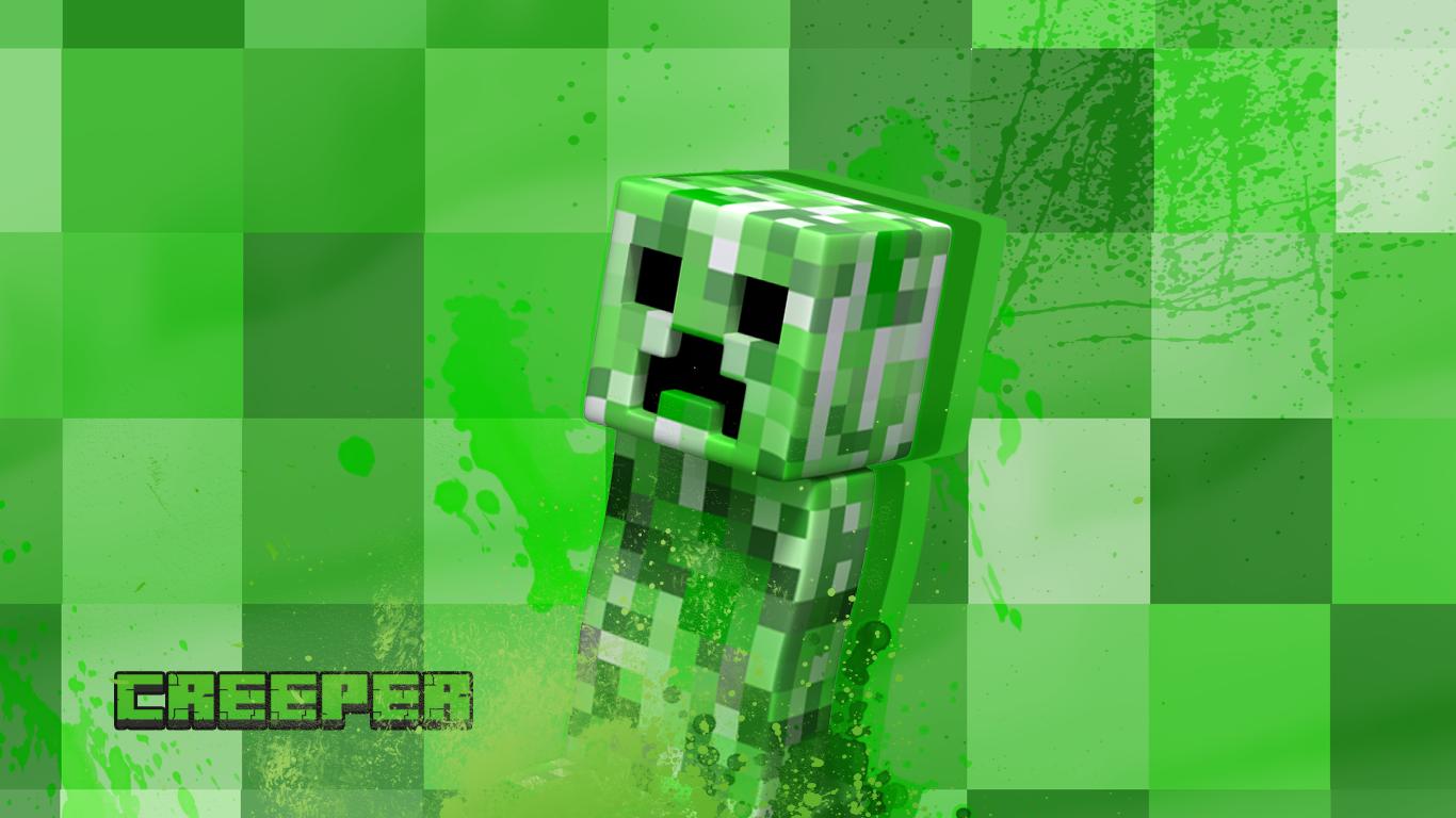 Wallpaper Creeper Minecraft By Darkyx