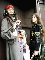 Jack Sparrow-Elizabeth Swann I by PriSuicun