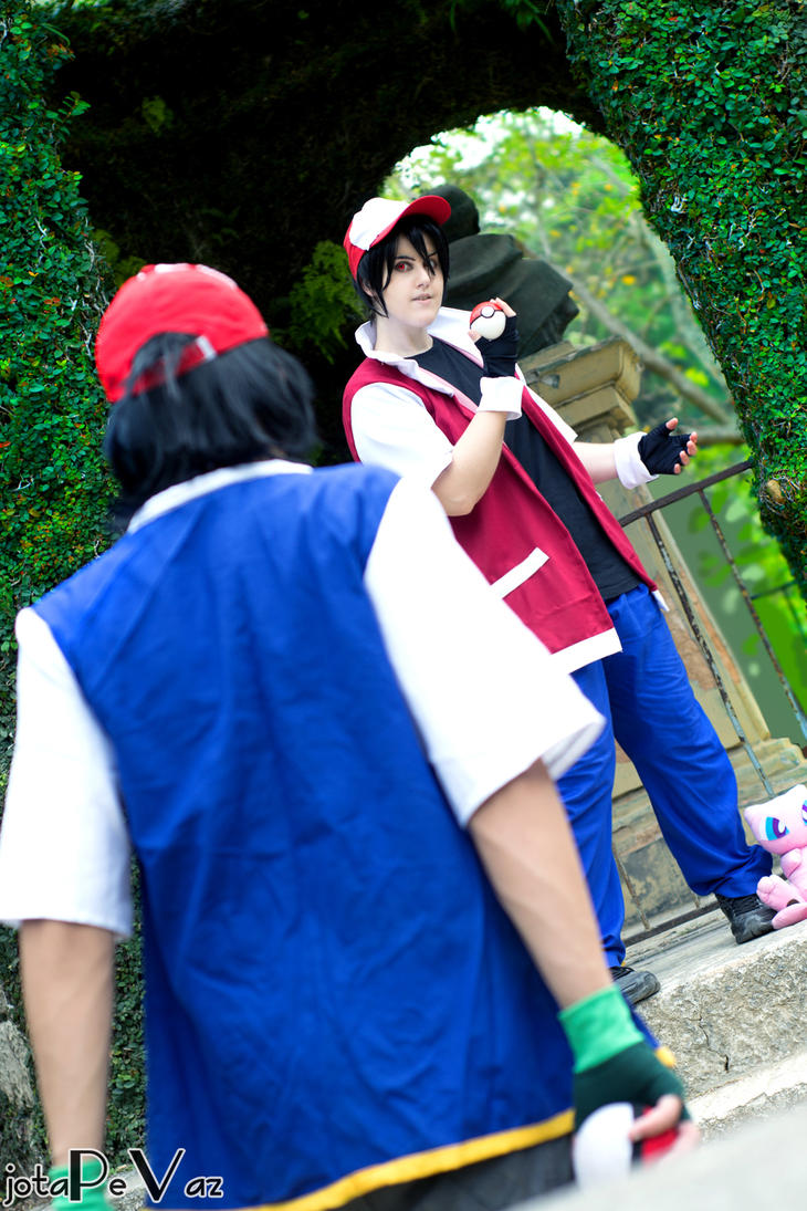 [...] Pokemon Red Battle by PriSuicun