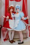 Asuka and Rei - MAID-