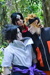 NOW KISS sasuke and Naruto