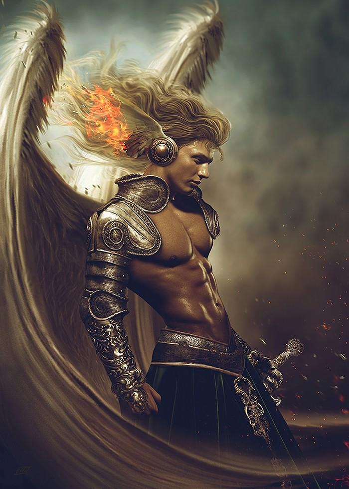 تابلو نقاشی، جنگجوی آسمانی شماره 3
