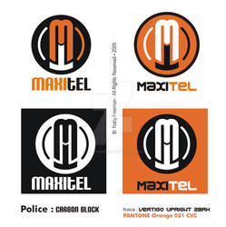 MAXITEL - Logo