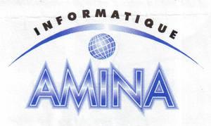 Amina Informatique - Logo