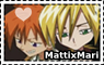 Matti and Mari stamp by Gyngerr