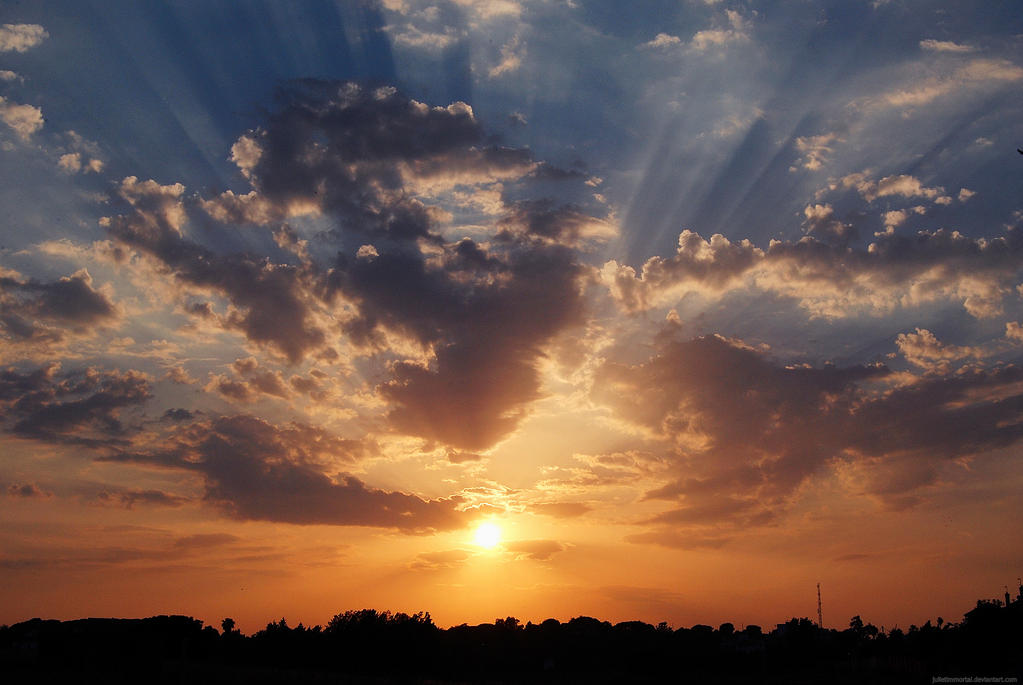 The sun will return tomorrow. by JulietGarcia