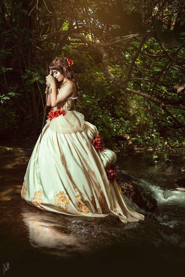 The princess on the lake