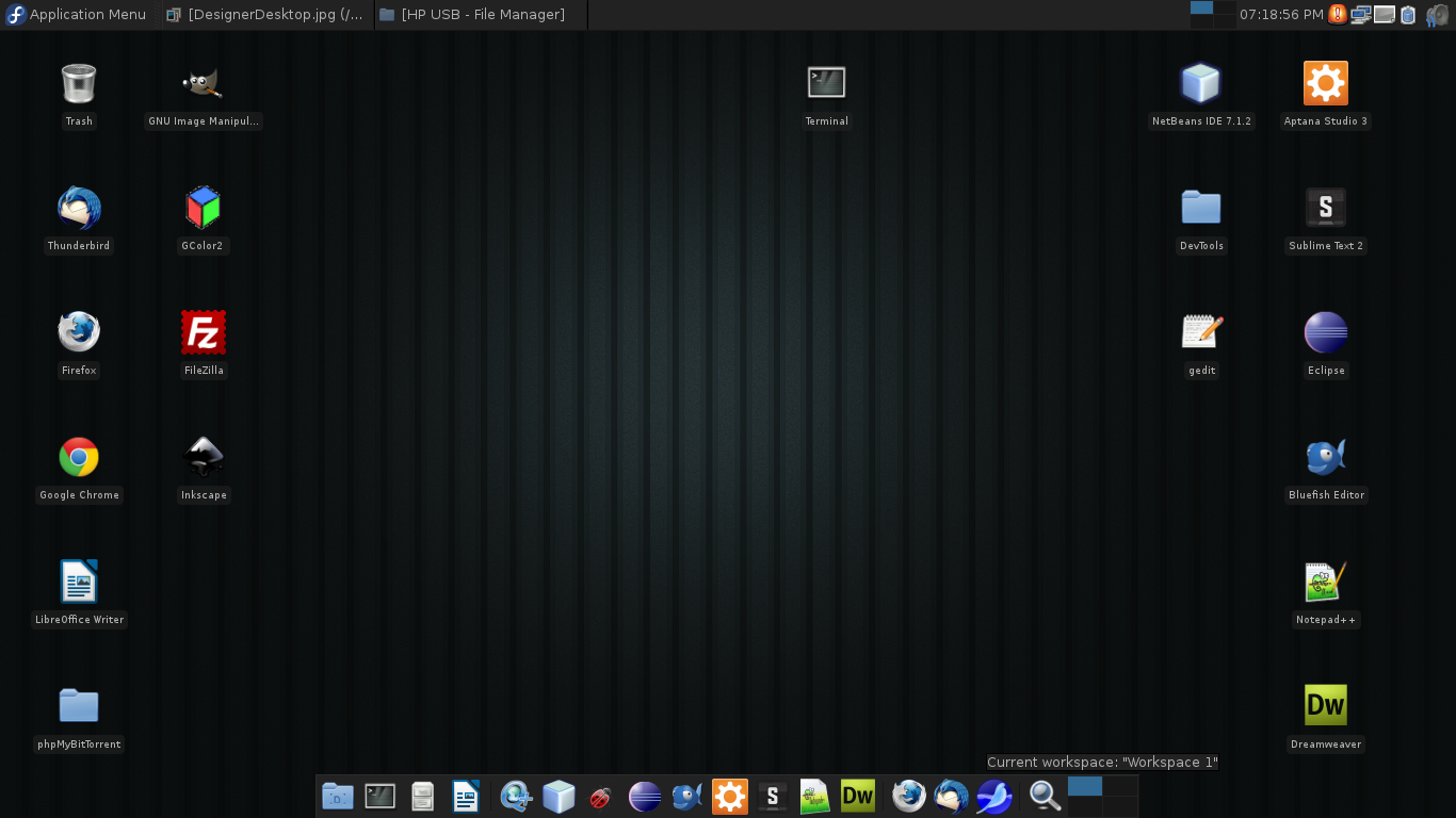 Fedora 16 Desktop by CDevelop on DeviantArt