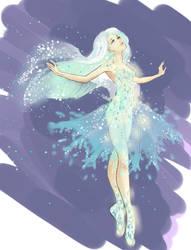 Snowflake lady