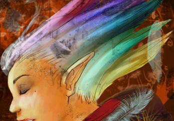 Rainbow Of Mine by momochisa