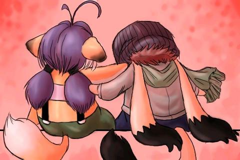 Kyoudai -- Namuki and Shway by momochisa