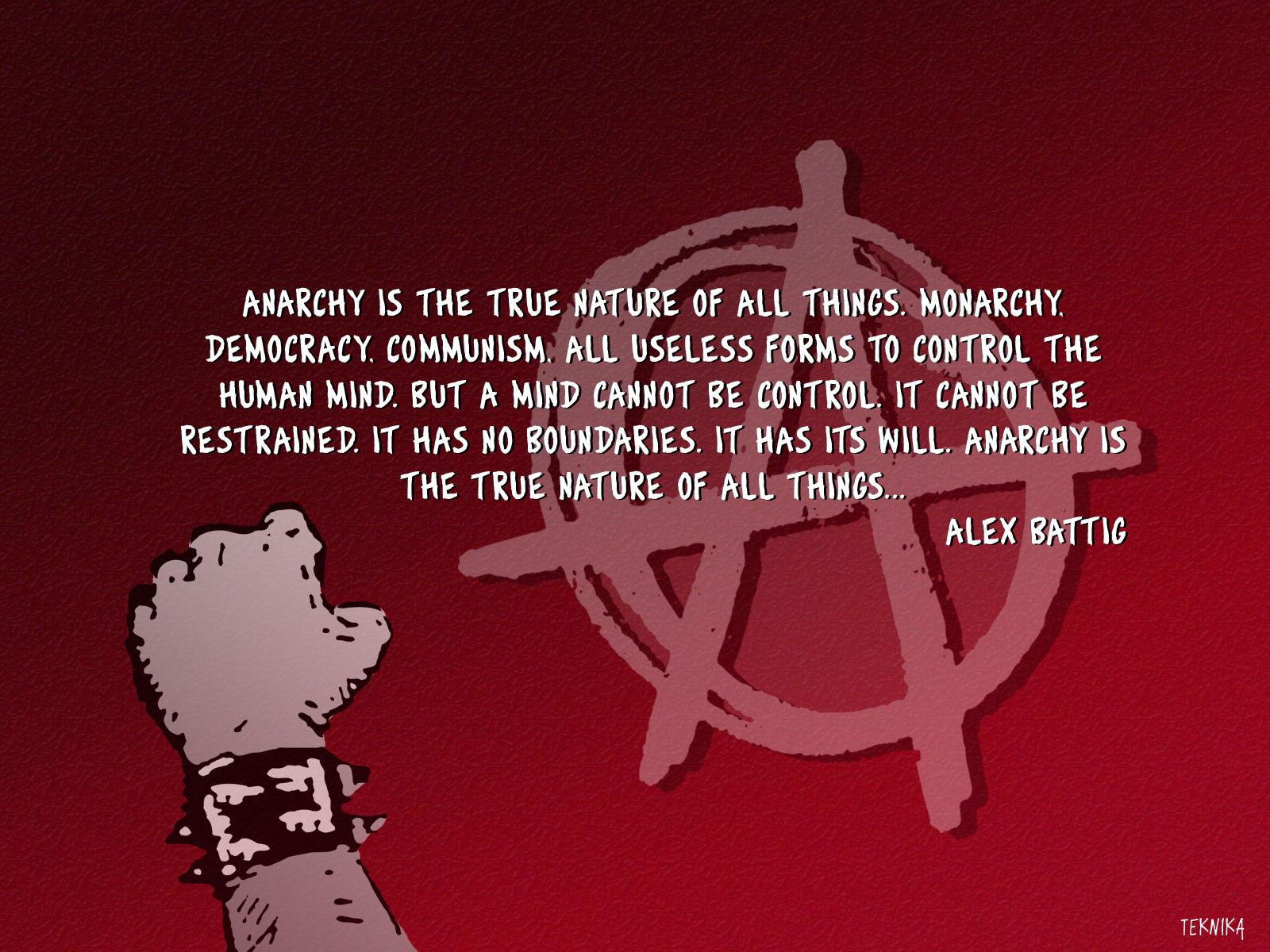 Anarchy By Teknika On Deviantart