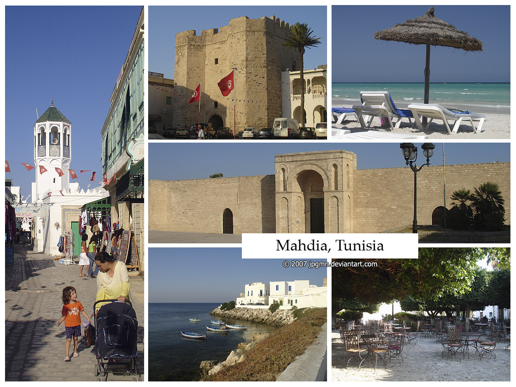 Postcard - Mahdia, Tunisia by jpgmn