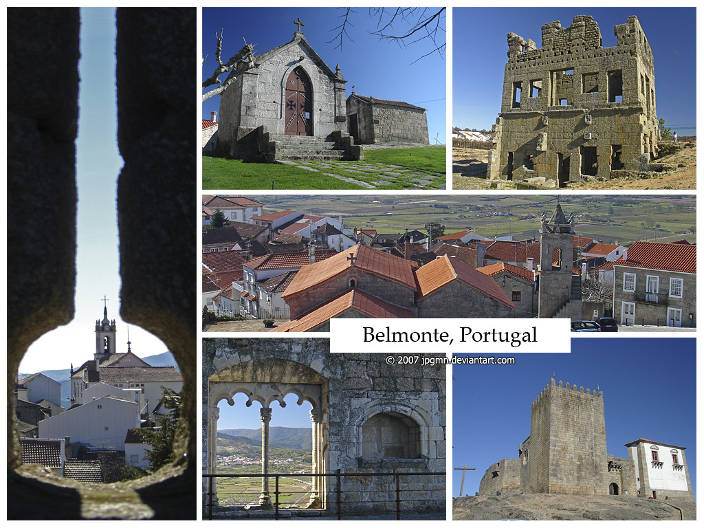 Belmonte Portugal  city pictures gallery : Postcard Belmonte, Portugal by jpgmn on DeviantArt