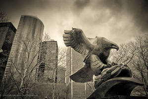 Iron Eagle, NYC by jpgmn