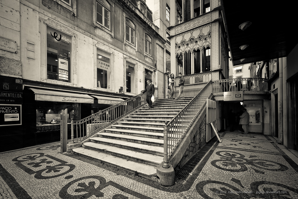 Lisboa - Santa Justa I by jpgmn