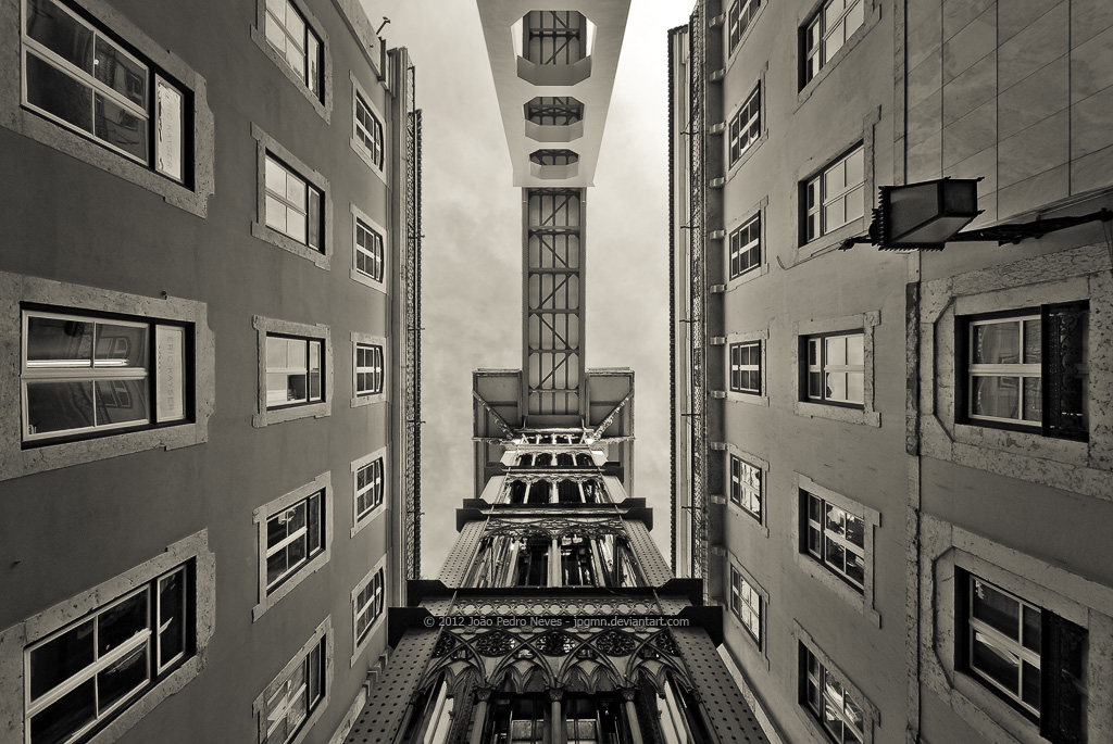 Lisboa - Santa Justa II by jpgmn