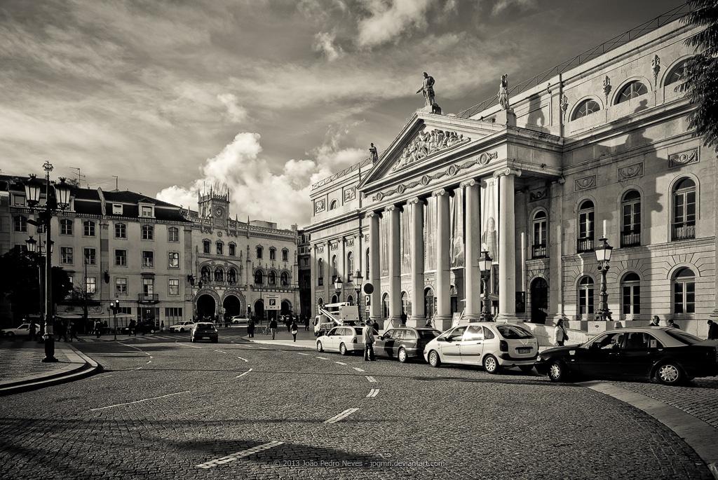 Teatro Nacional D. Maria II by jpgmn