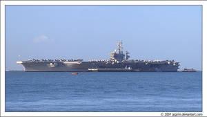 USS Eisenhower in Lisbon