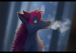 Chill of the Night by JettTheWoof