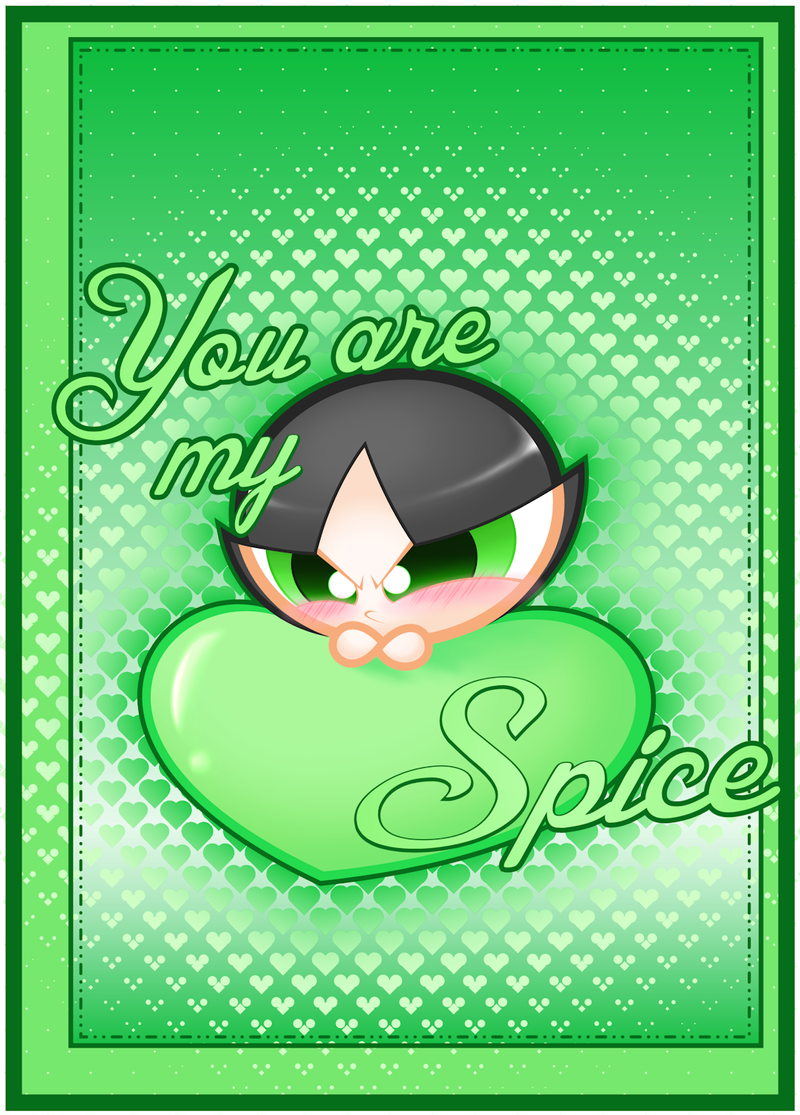 PPG Valentine: You are my Spice by JKSketchy